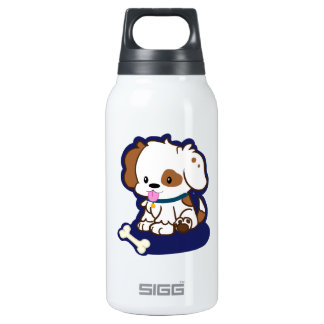 Spotted Puppy Insulated Water Bottle