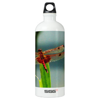 Spotted  Red and Black Dragonfly SIGG Traveler 1.0L Water Bottle