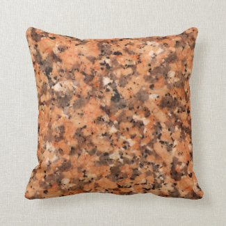 Spotted Rock Texture Lively Pattern Orange Black