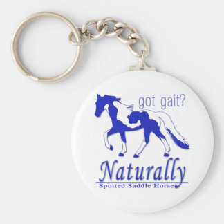 Spotted Saddle Horse Got Gait? Naturally Keychain