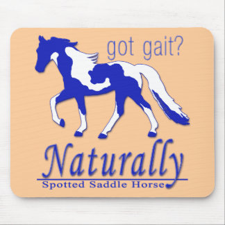 Spotted Saddle Horse Got Gait? Naturally Mouse Pads
