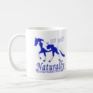 Spotted Saddle Horse Got Gait? Naturally mug