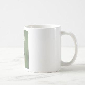 Spotted skunk; museum exhibit coffee mug