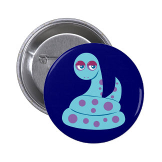 Spotted Snake Pinback Button