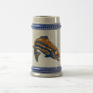 spotted speckled trout fish mug