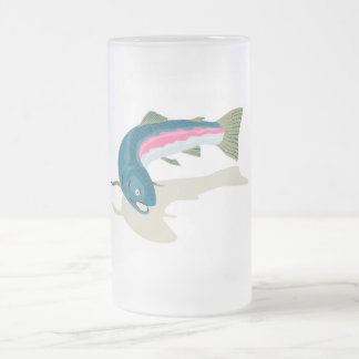 spotted speckled trout fish mugs