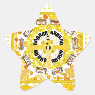 """Spotted Sunshine"" Candala Star Sticker"