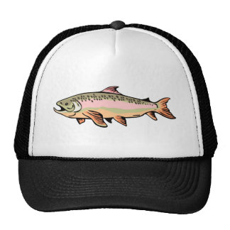 spotted trout fish jumping hats