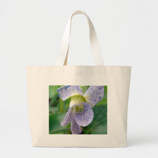 Spotted Violet Canvas Bags