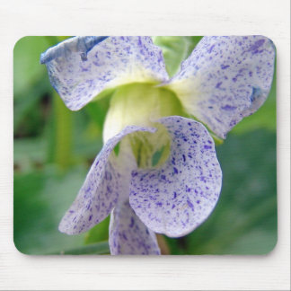 Spotted Violet Mouse Pad