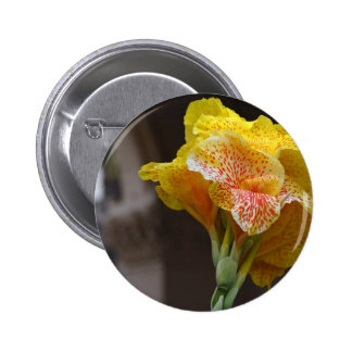Spotted Yellow Flower Pin