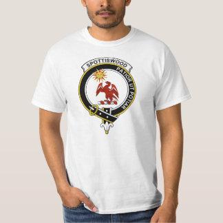 Spottiswood Clan Badge T Shirt