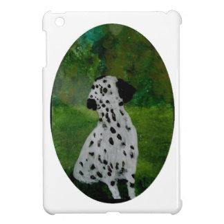 Spotty Dalmatian Dog Art iPad Mini Cover