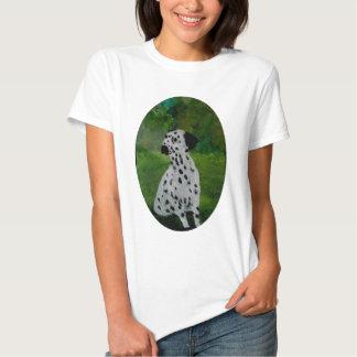 Spotty Dalmatian Dog Art Shirt