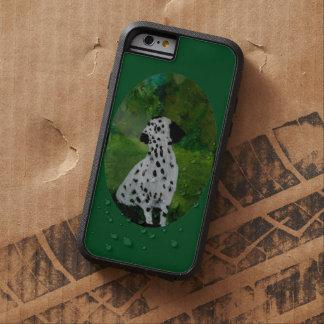Spotty Dalmatian Dog Art Tough Xtreme iPhone 6 Case