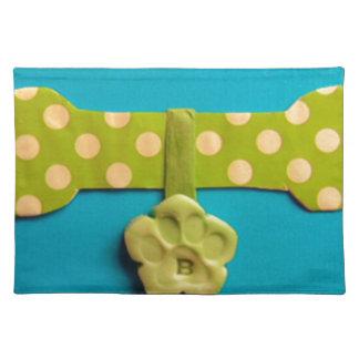 Spotty Dog Bone - B Placemat