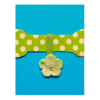 Spotty Dog Bone c.jpg Postcard