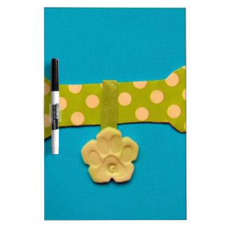 Spotty Dog Bone - g.jpg Dry-Erase Board