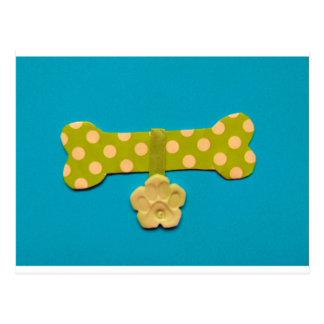 Spotty Dog Bone - g.jpg Postcard