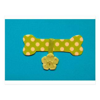 Spotty Dog Bone - i.jpg Postcard