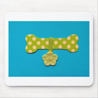 Spotty Dog Bone -k.jpg Mouse Pad