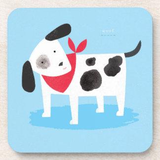 Spotty Dog Coaster