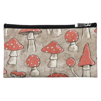 Spotty Fungi Abstract Cosmetic Bag