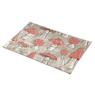 Spotty Fungi Cloth Placemat