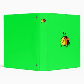 Spotty ladybug binder