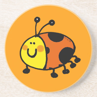 Spotty ladybug coaster