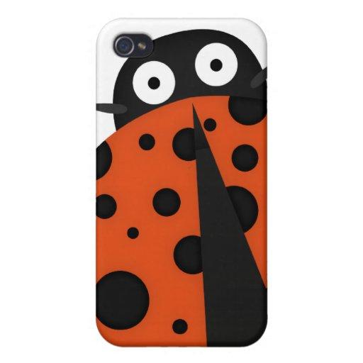 spotty ladybug iPhone 4/4S cover