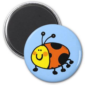 Spotty ladybug magnet