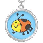 Spotty ladybug pendants