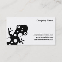Spotty Lizard, Company Name, Business Card