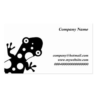 Spotty Lizard, Company Name, Double-Sided Standard Business Cards (Pack Of 100)