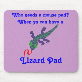 Spotty Lizzy Lizard Mouse Pad/Lizard Pad