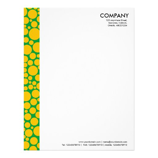 Paper Margin Design Letterhead Design Margins