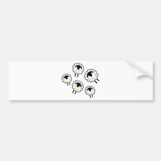 Spotty Sheep Bumper Sticker