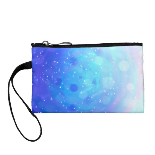 Spotty Space Change Purse