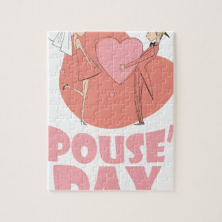 Spouse's Day - Appreciation Day Jigsaw Puzzle