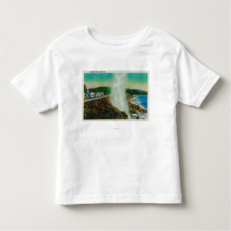Spouting Horn in Depoe Bay, Oregon Toddler T-shirt