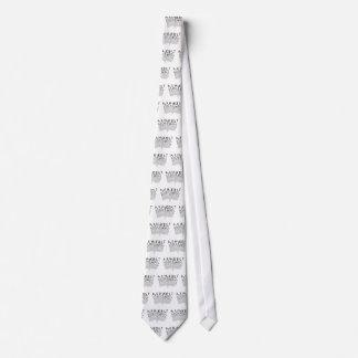 Spouting Letters Tie