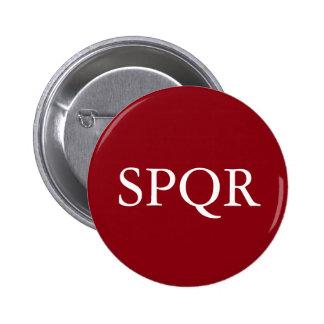 SPQR Badge Pinback Button
