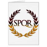 SPQR CARD
