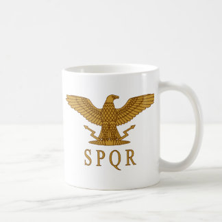 SPQR Eagle Gold Mug