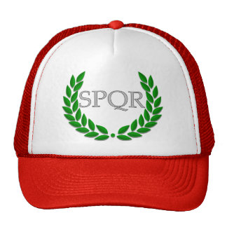 SPQR hat