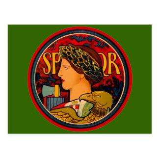 SPQR Italian Emblem Postcard