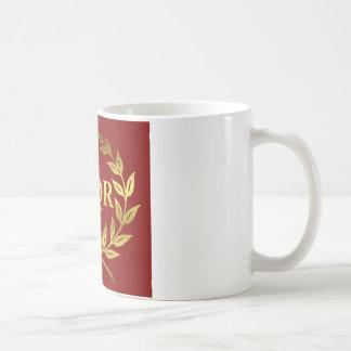 SPQR COFFEE MUG