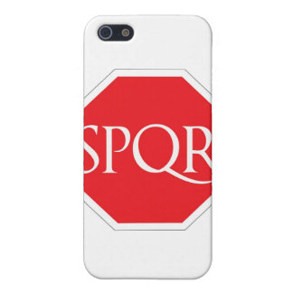 SPQR Roman Road Cover For iPhone SE/5/5s