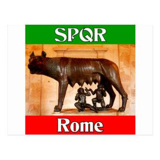 SPQR Rome Postcard